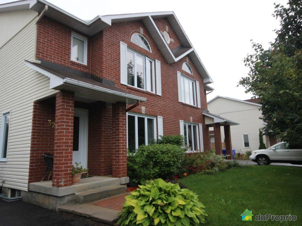 Maison vendu gatineau immobilier qu bec duproprio 652451 for Achat maison gatineau