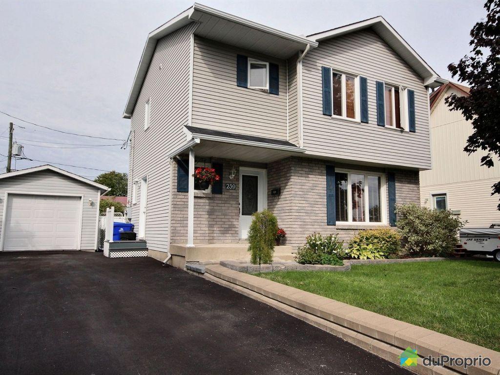 Maison vendre gatineau 239 rue f b land immobilier for Achat maison gatineau
