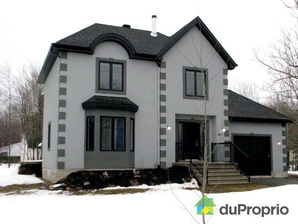 Maison vendu granby immobilier qu bec duproprio 405281 for Facade acrylique cuisine