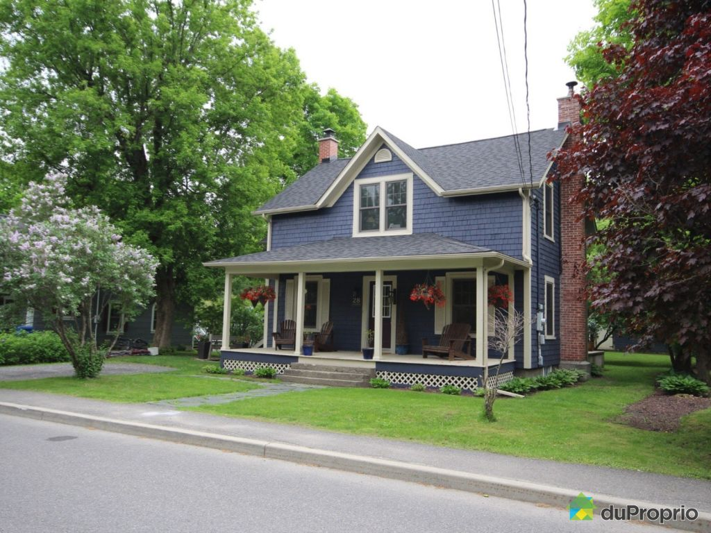 Maison vendre knowlton 28 rue lansdowne immobilier for Achat de maison quebec