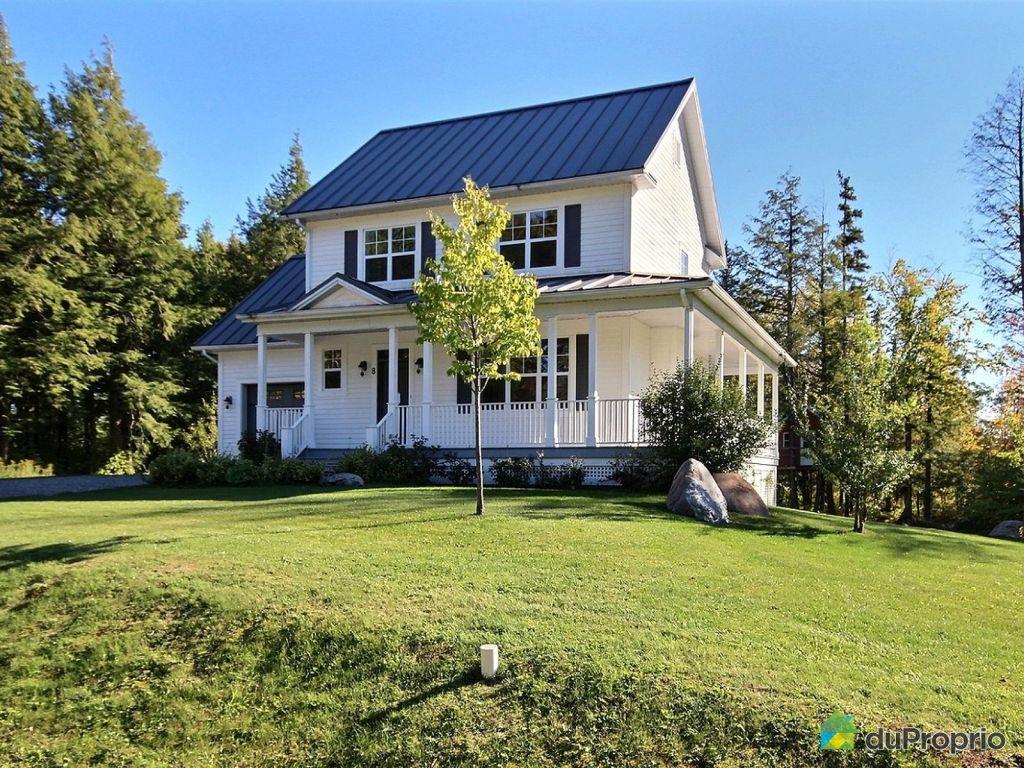 Lac brome maison a vendre proprietes etangs a for Acheter une maison au canada quebec