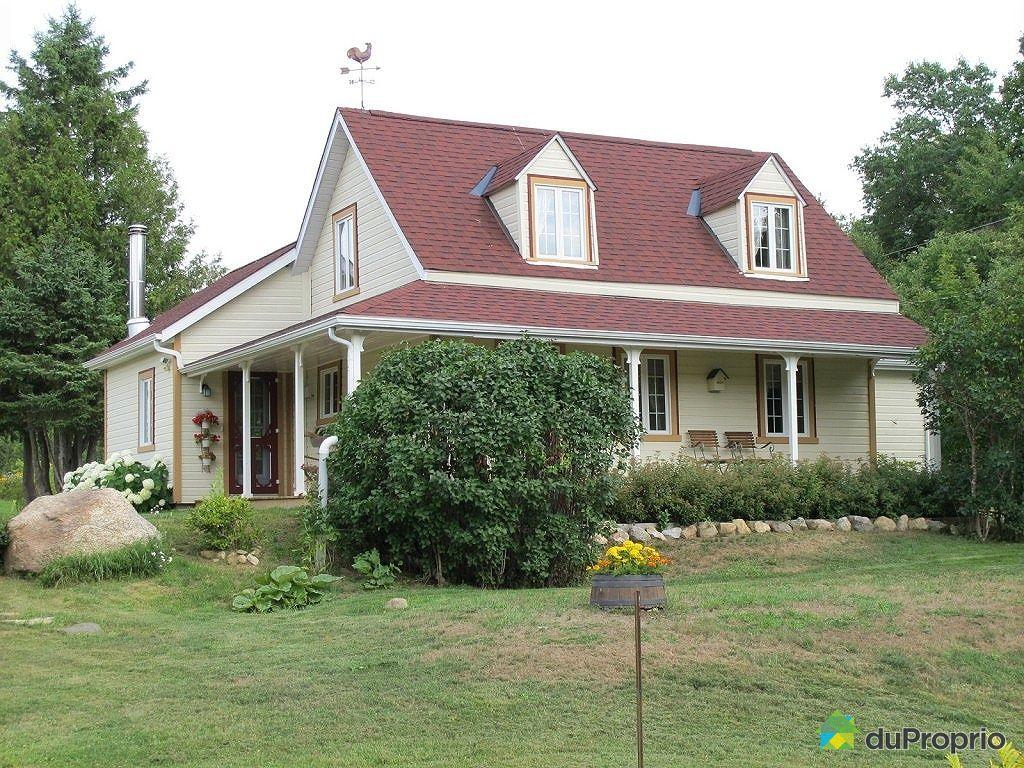 Maison vendu lac simon immobilier qu bec duproprio 352627 for Achat maison quebec