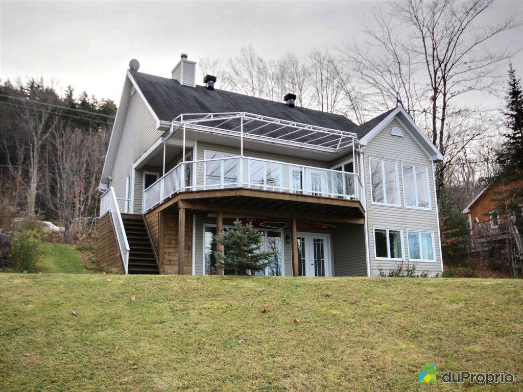 Bungalow sur lev vendre lac st joseph 327 chemin croissant immobilier qu - Priere a st joseph pour vendre maison ...