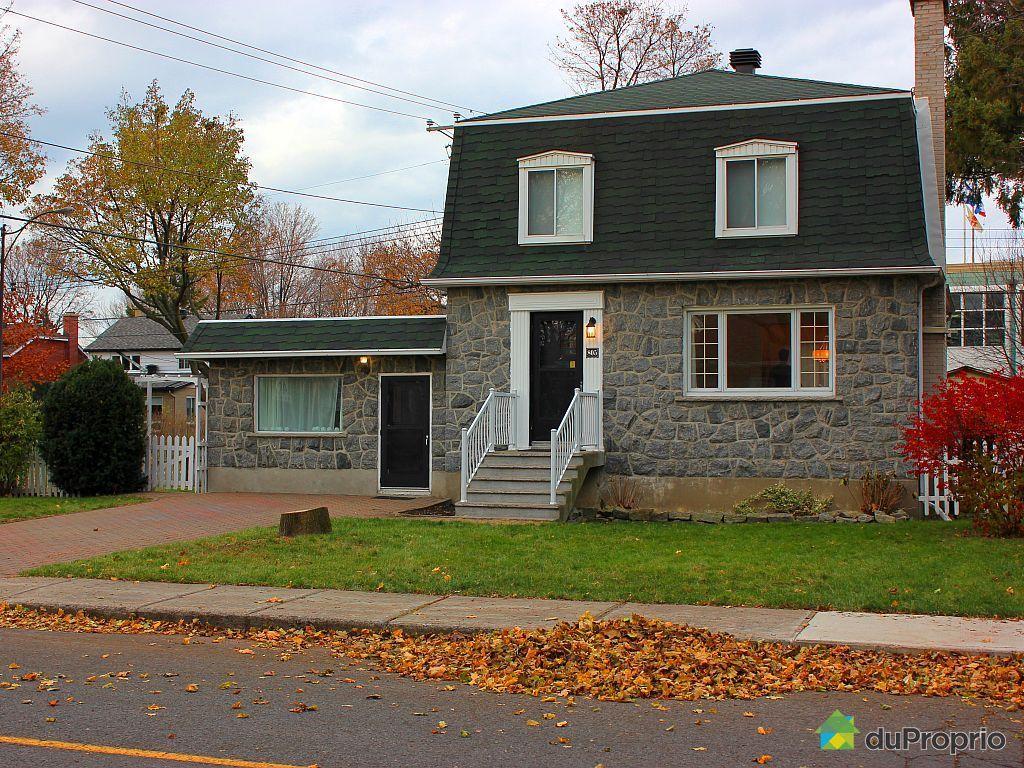 Maison vendu montr al immobilier qu bec duproprio 475183 for Acheter un maison a montreal
