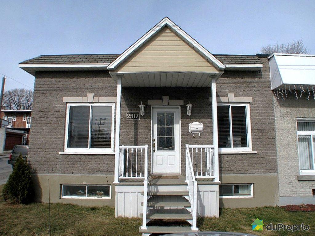 Maison vendu montr al immobilier qu bec duproprio 303966 for Acheter un maison a montreal