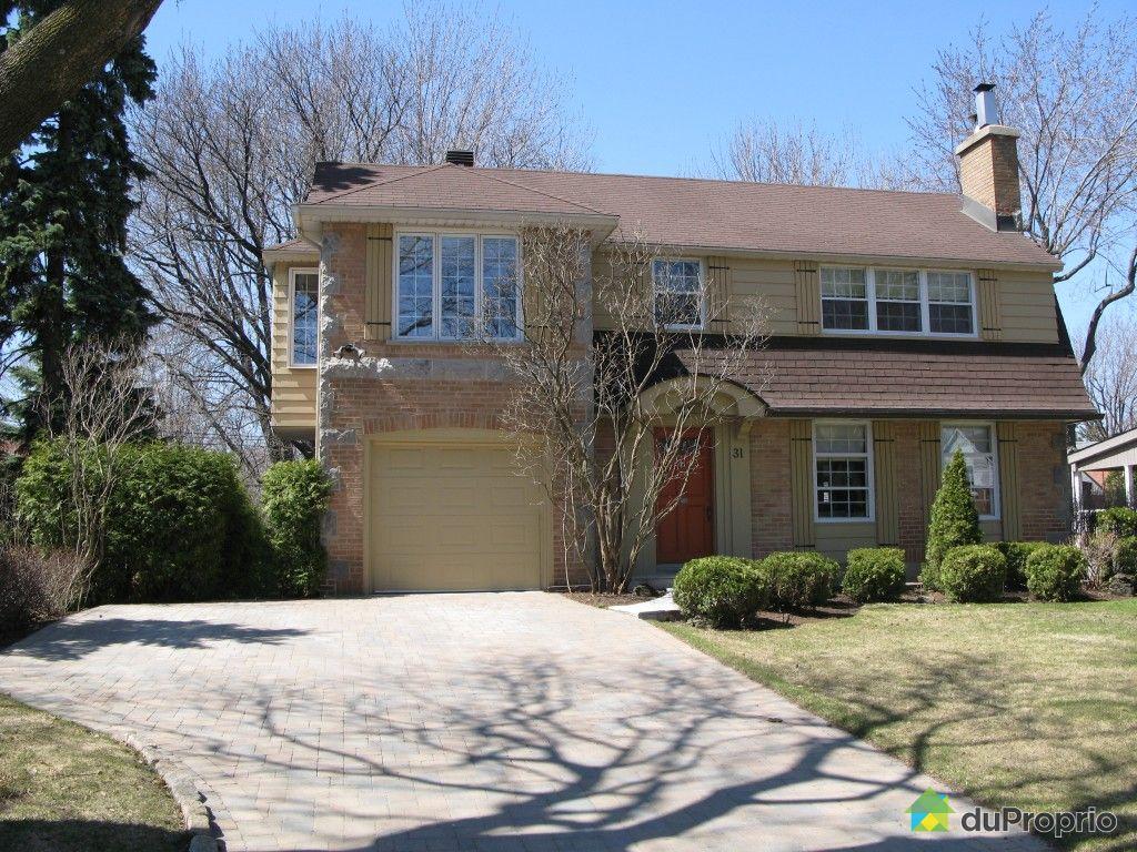Maison vendu montr al immobilier qu bec duproprio 409298 for Acheter tv montreal