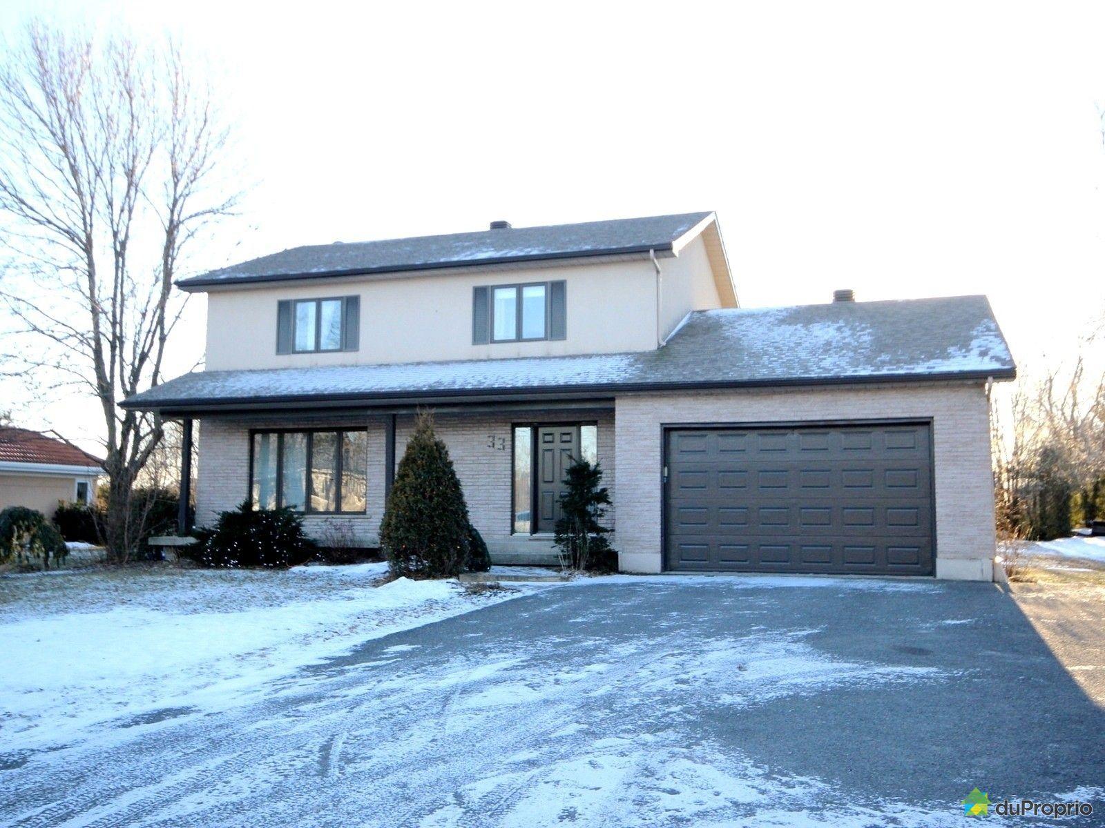 maison vendu mont st gregoire immobilier qu 233 bec duproprio 471684