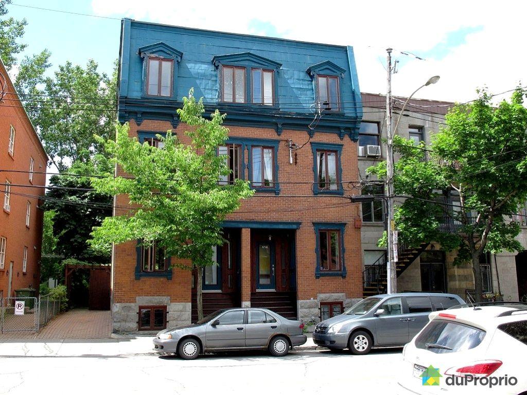 Maison vendu montr al immobilier qu bec duproprio 340933 for Acheter une maison a montreal