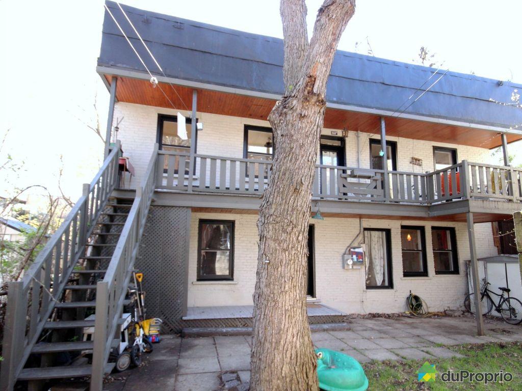 Maison vendu montr al immobilier qu bec duproprio 700149 for Achat maison montreal canada