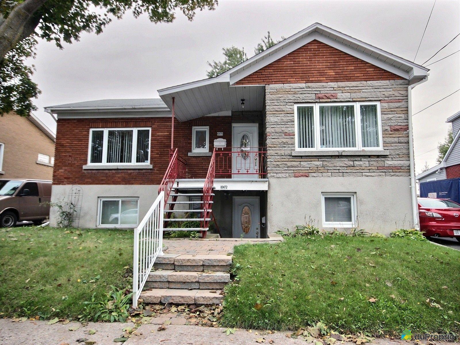 Maison vendu montr al immobilier qu bec duproprio 650726 for Acheter maison individuelle nord