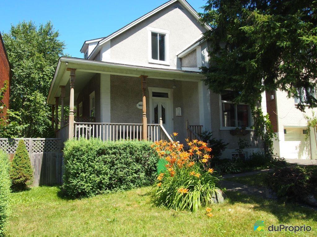 Maison vendu montr al immobilier qu bec duproprio 353190 for Acheter maison montreal