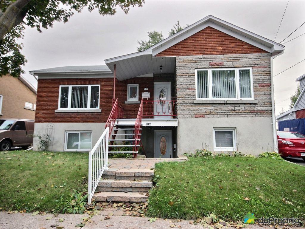 Maison vendu montr al immobilier qu bec duproprio 650726 for Achat maison individuelle nord