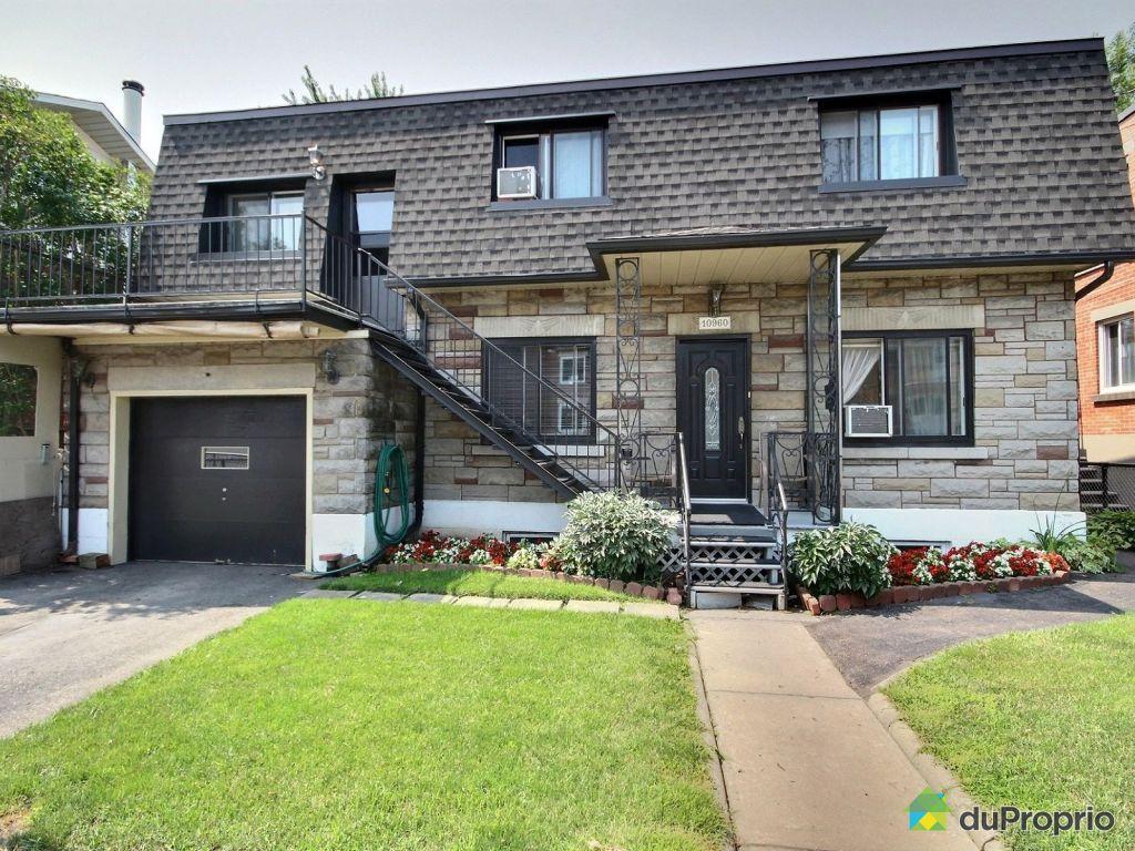 Maison vendre montr al 10960 avenue drapeau immobilier for Achat maison montreal canada