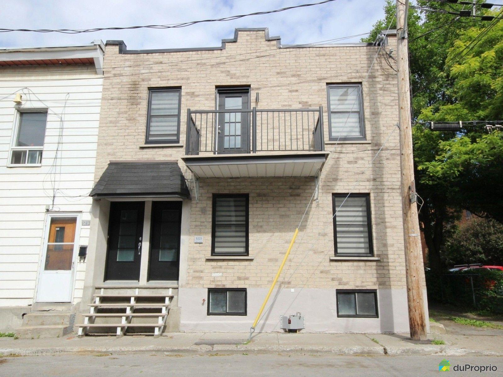 Maison vendu montr al immobilier qu bec duproprio 608406 for Acheter maison montreal
