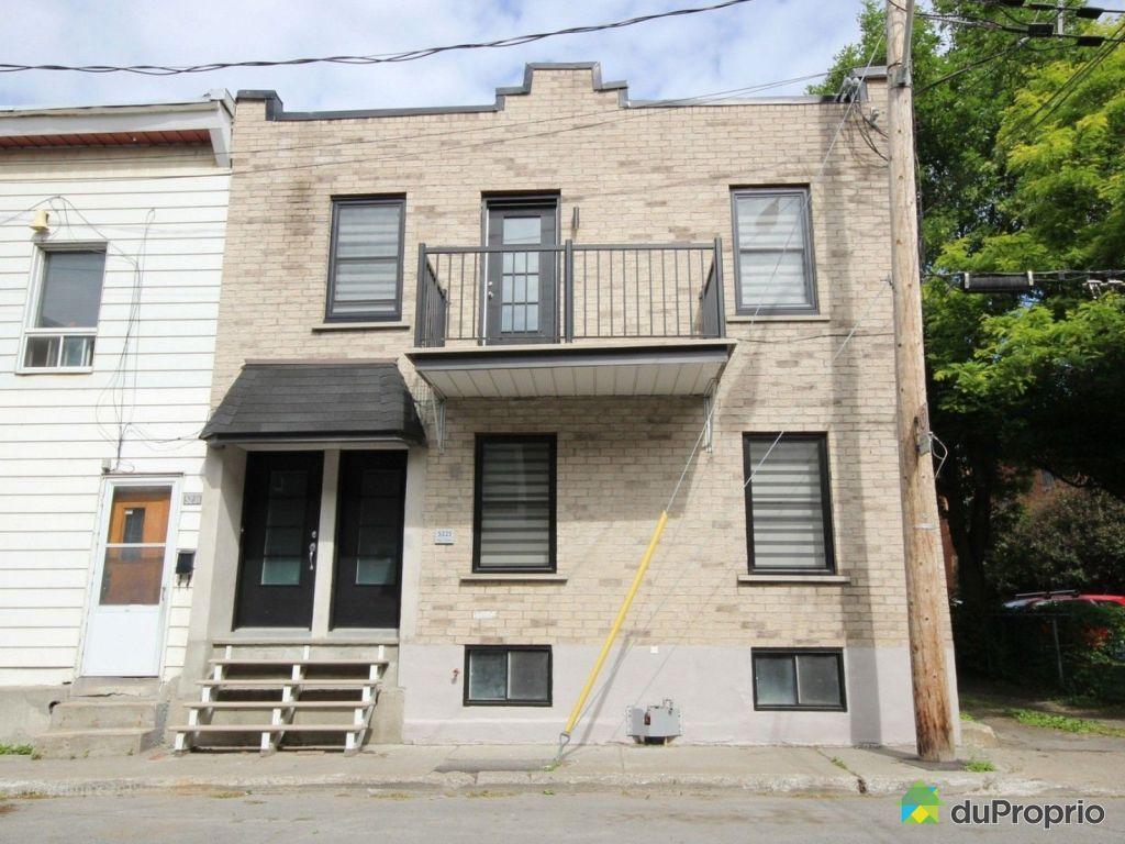 Maison vendu montr al immobilier qu bec duproprio 608406 for Achat maison montreal canada