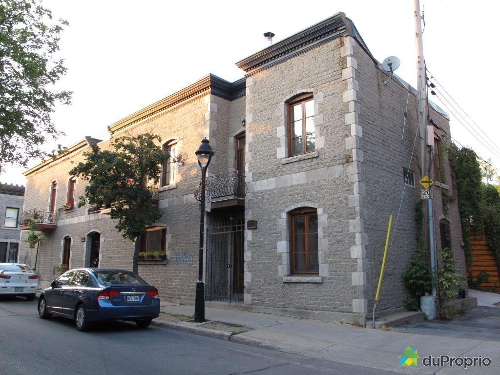 Maison vendu montr al immobilier qu bec duproprio 359096 for Acheter maison montreal canada
