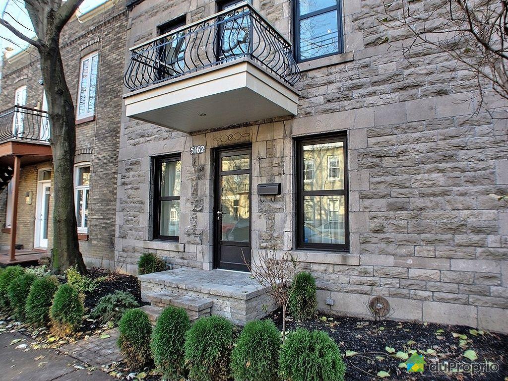 Maison vendu montr al immobilier qu bec duproprio 380455 for Achat maison montreal canada