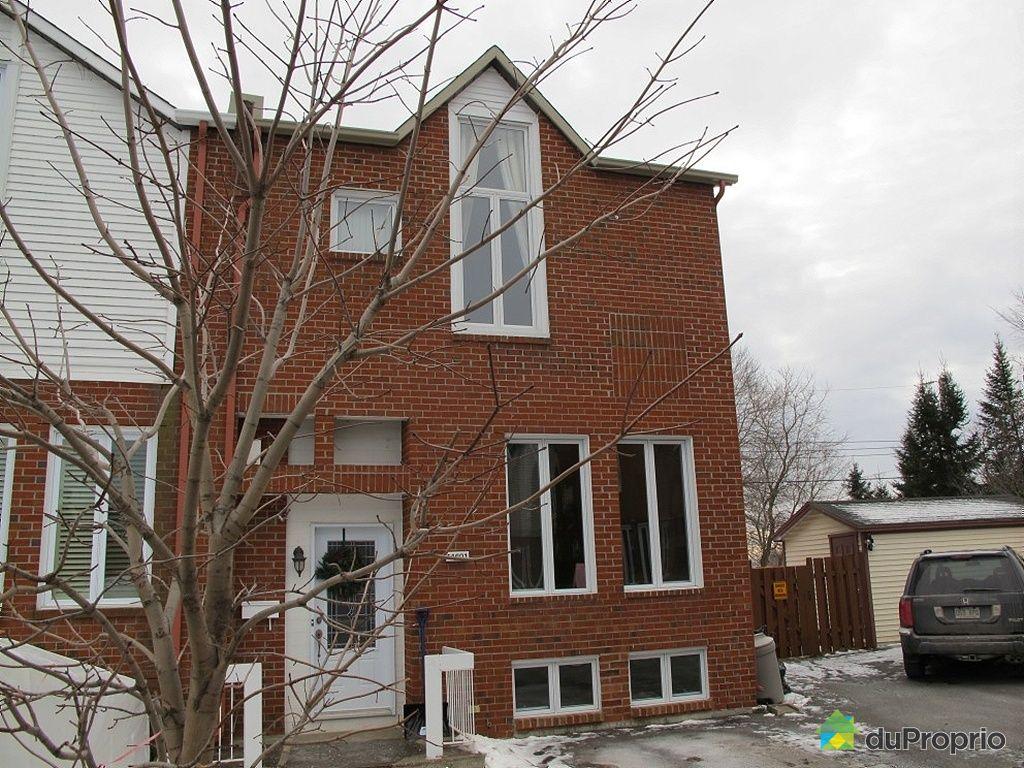 Maison vendu montr al immobilier qu bec duproprio 303298 for Achat maison montreal canada