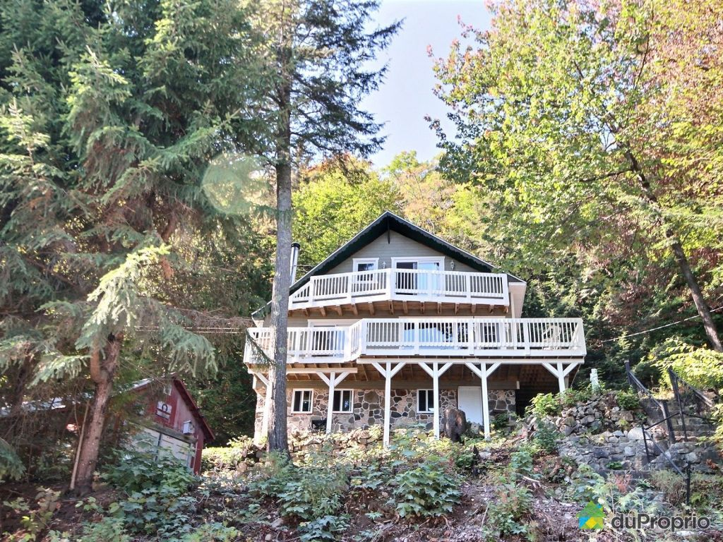 Maison a vendre lac huard rawdon proprietes etangs a for Acheter une maison quebec