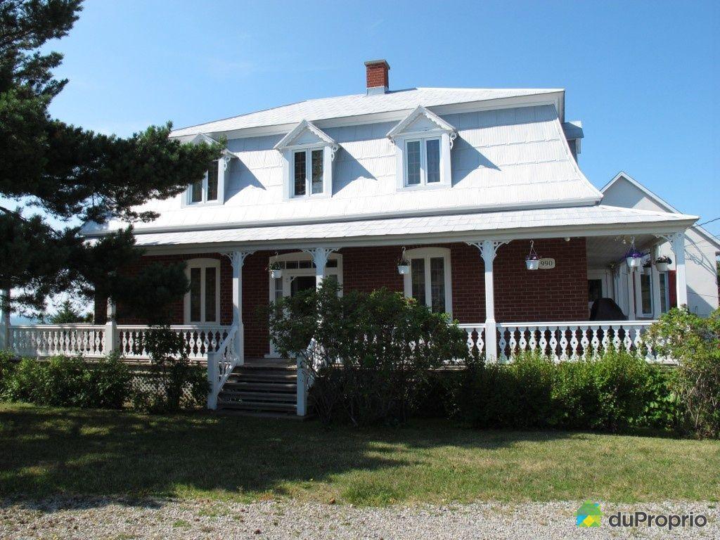 Maison vendu rimouski immobilier qu bec duproprio 449959 for Auberge de la vieille maison rimouski qc