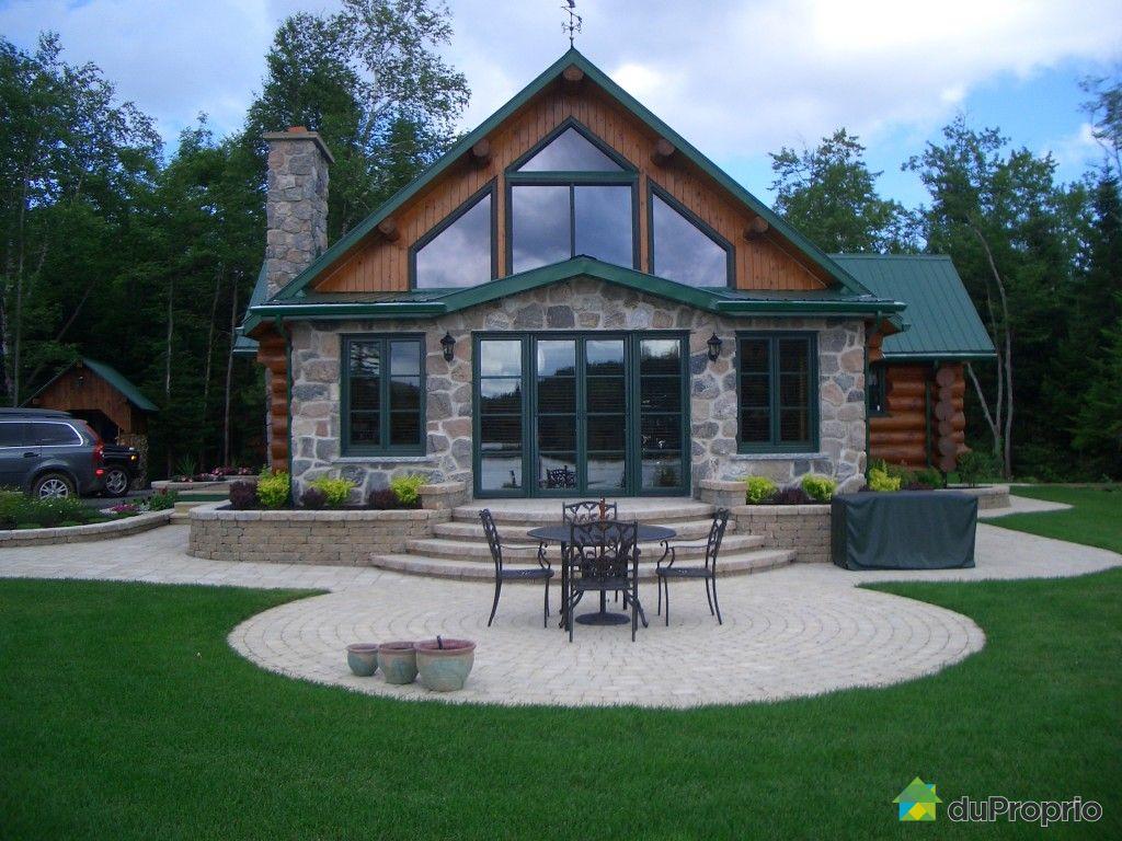 maison vendre st gerard des laurentides 3323 chemin du lac canard immobilier qu bec. Black Bedroom Furniture Sets. Home Design Ideas