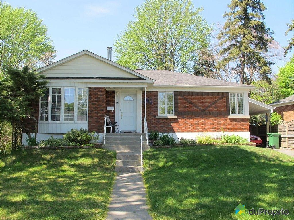 Maison vendu montr al immobilier qu bec duproprio 424790 for Acheter maison montreal