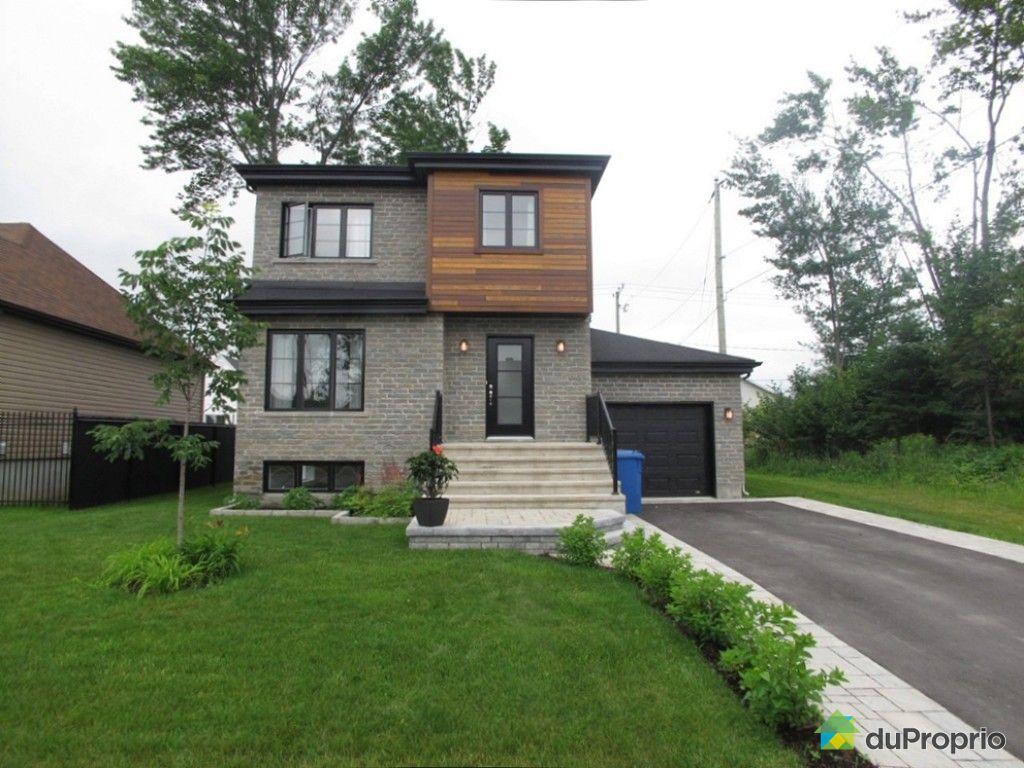 Maison vendre st lin laurentides 563 rue des artisans immobilier qu bec - Combien coute une facade de maison ...