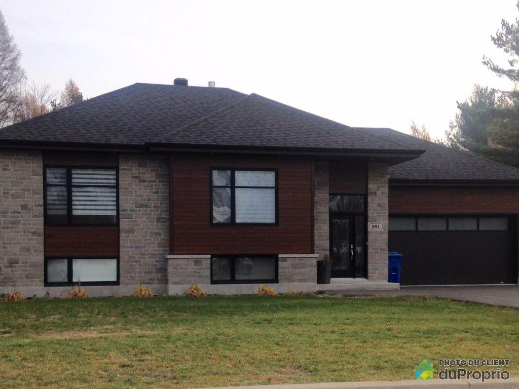 maison moderne a vendre laurentides