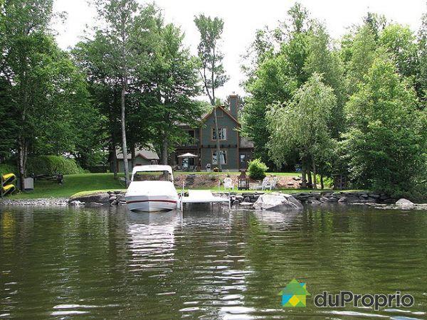 A vendre lac fortin proprietes etangs a for Acheter une maison au canada quebec