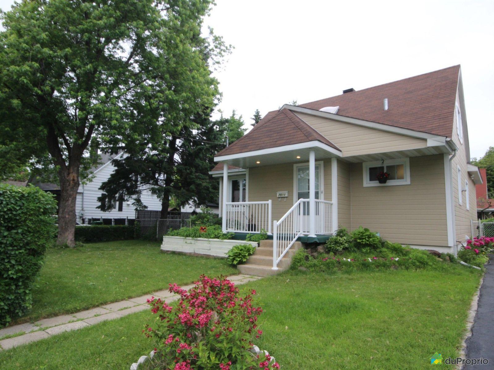 Maison vendre montr al 7511 21e avenue immobilier for Extension maison quebec
