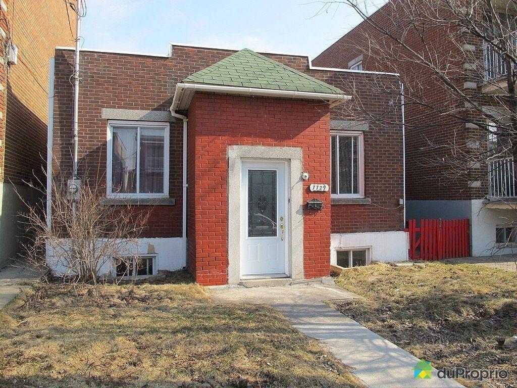 Maison vendu montr al immobilier qu bec duproprio 319809 for Extension maison quebec