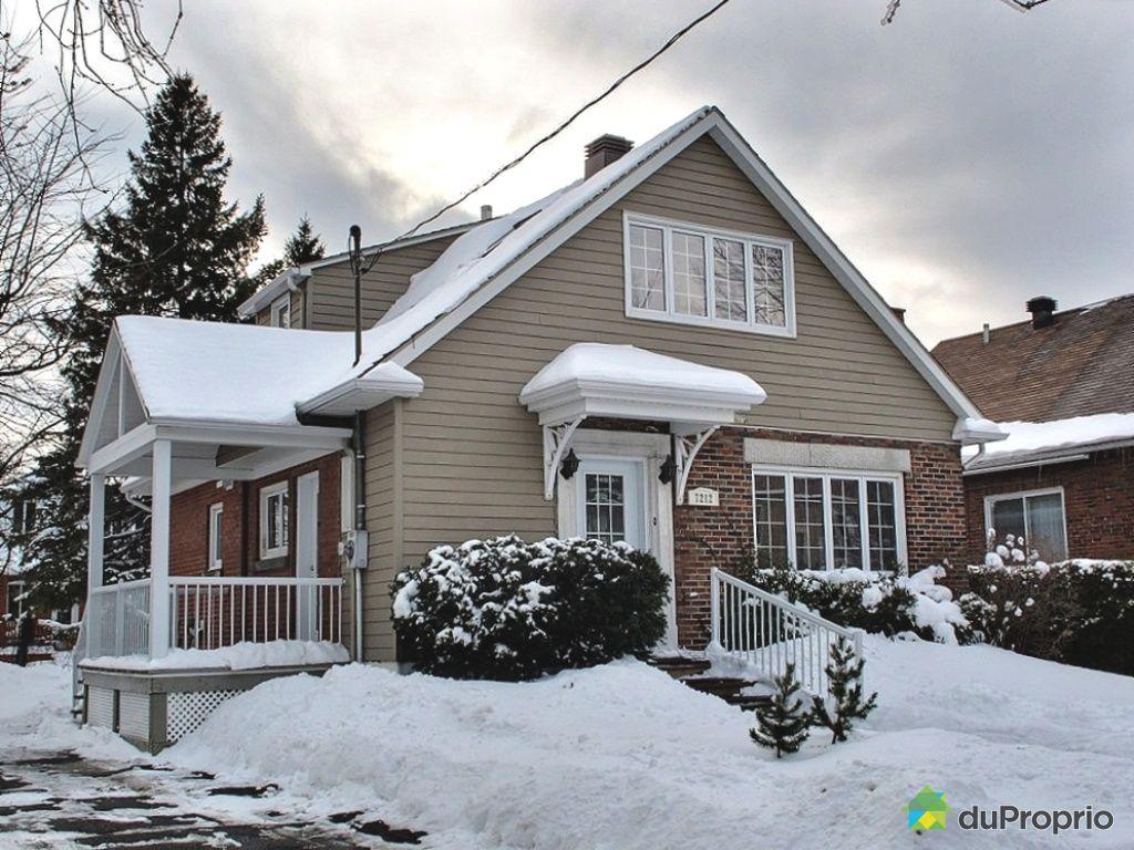 Maison vendu montr al immobilier qu bec duproprio 346434 for Extension maison quebec