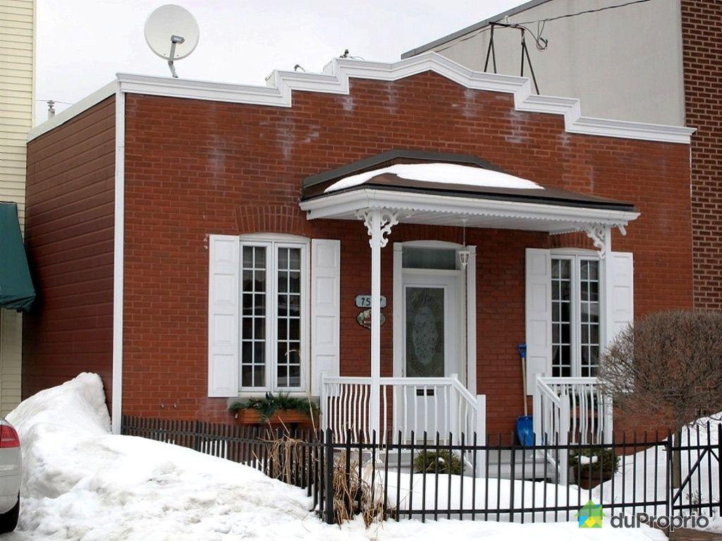 Maison vendu montr al immobilier qu bec duproprio 400815 for Extension maison quebec