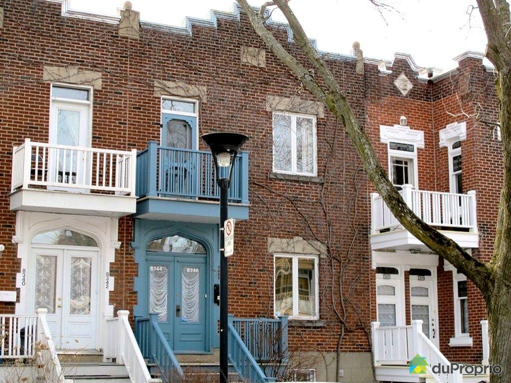 Maison vendu montr al 8346 avenue de gasp immobilier for Extension maison quebec