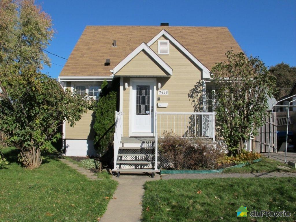 Maison vendu montr al immobilier qu bec duproprio 468272 for Extension maison quebec