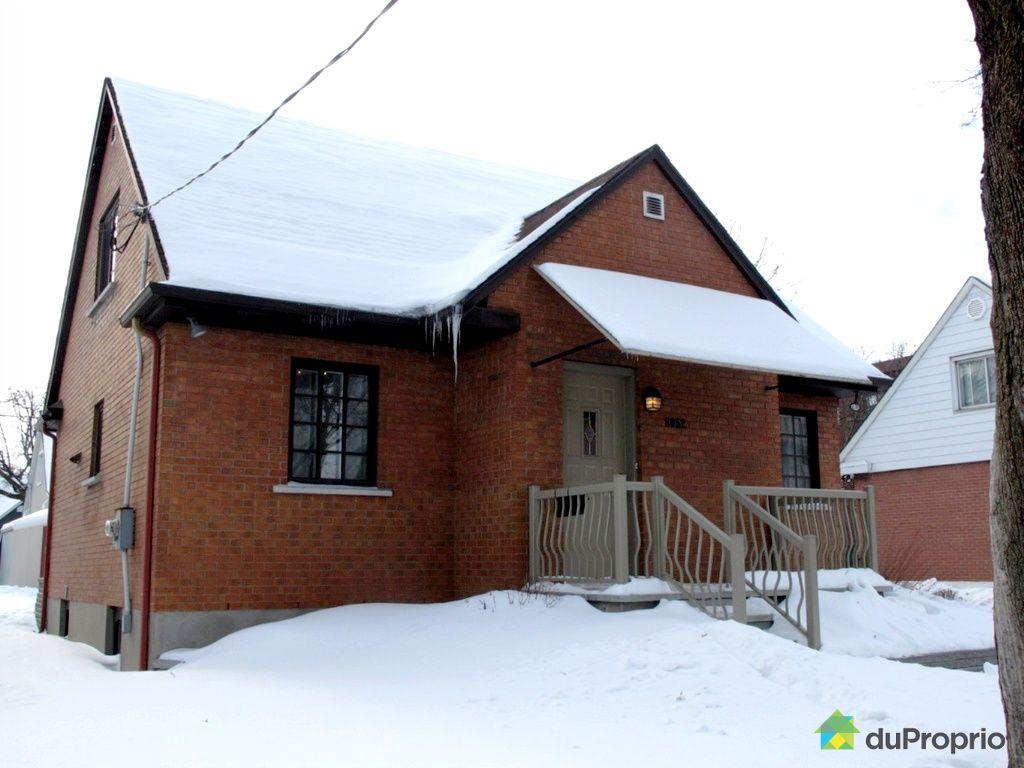 Maison vendu montr al immobilier qu bec duproprio 489645 for Extension maison quebec