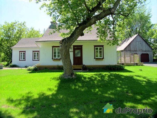 Maison vendu carignan immobilier qu bec duproprio 429857 for Acheter une maison en campagne