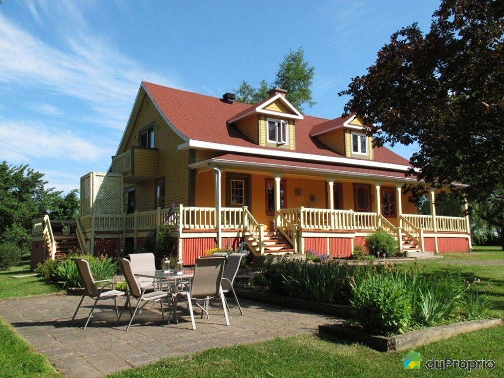 Maison vendre riviere ouelle 180 chemin du haut de la rivi re immobilier - Maison en indivision comment vendre ...