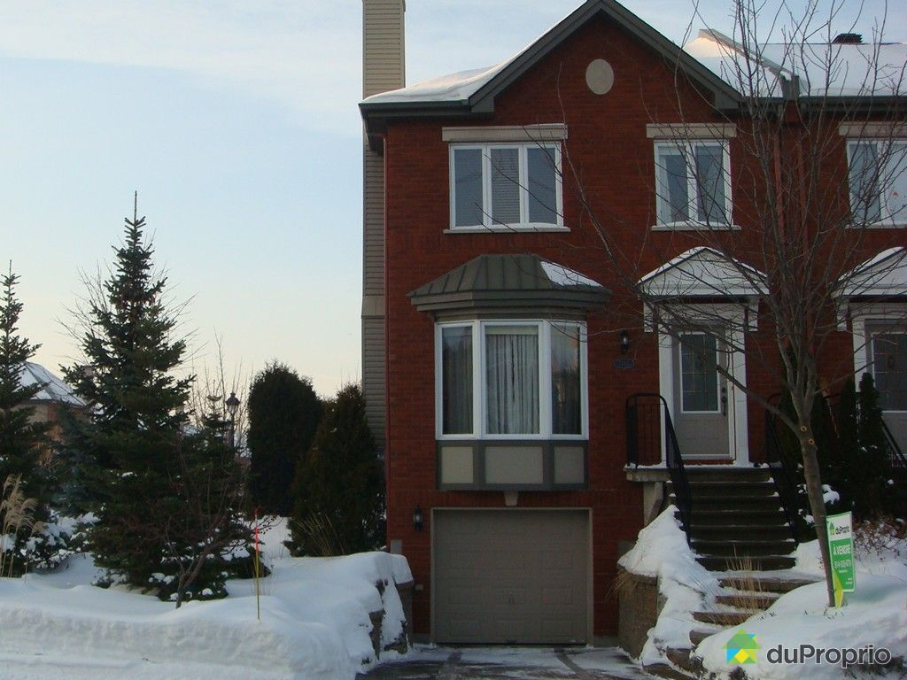 Maison vendu montr al immobilier qu bec duproprio 354645 for Acheter maison montreal canada