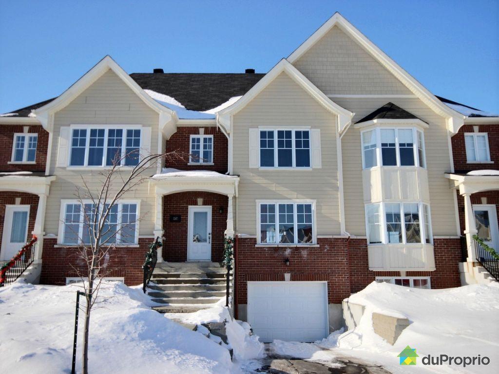 Maison vendre beloeil 1247 rue claude perraud immobilier qu bec dupropr - Combien coute une facade de maison ...