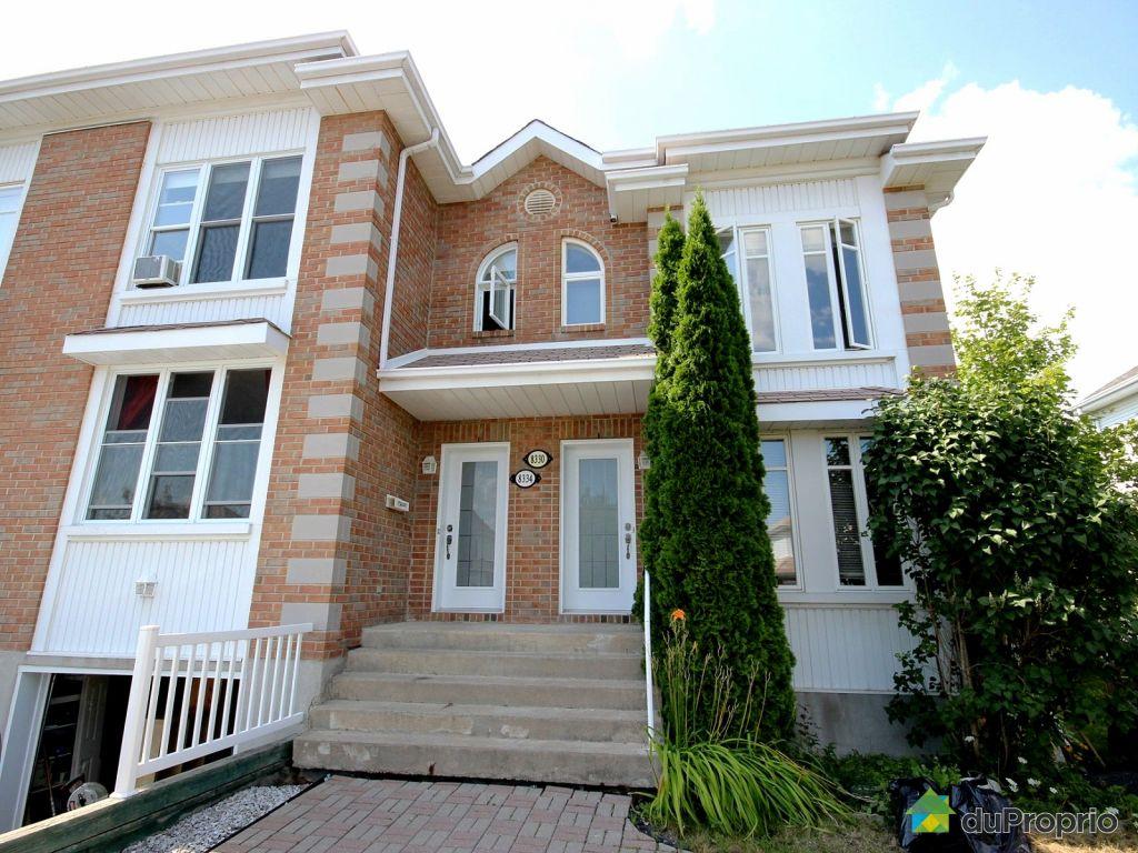 Maison vendu brossard immobilier qu bec duproprio 541616 - Combien coute une facade de maison ...