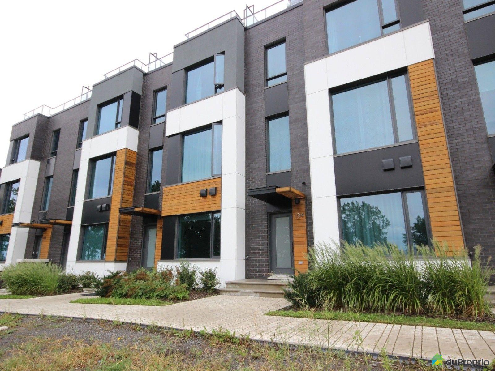 134 rue de la rotonde l 39 ile des soeurs vendre duproprio - Maison de ville moderne design klein ...