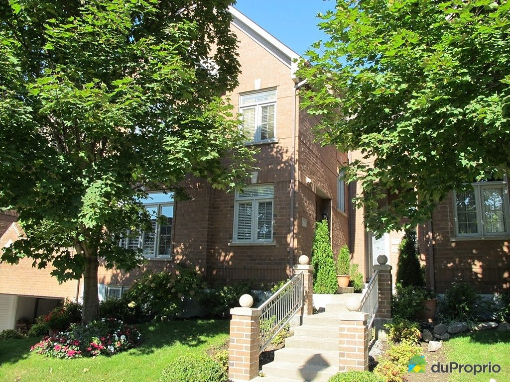 Maison vendu montr al immobilier qu bec duproprio 286847 for Acheter maison montreal canada