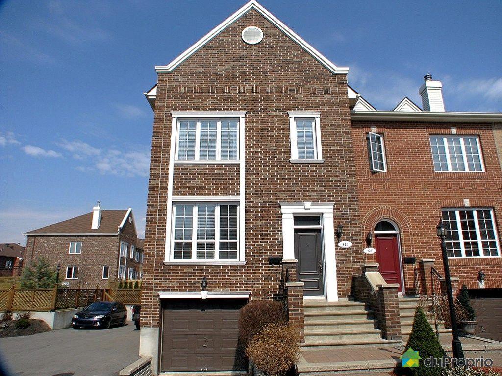 Maison vendu montr al immobilier qu bec duproprio 320370 for Acheter maison montreal quebec