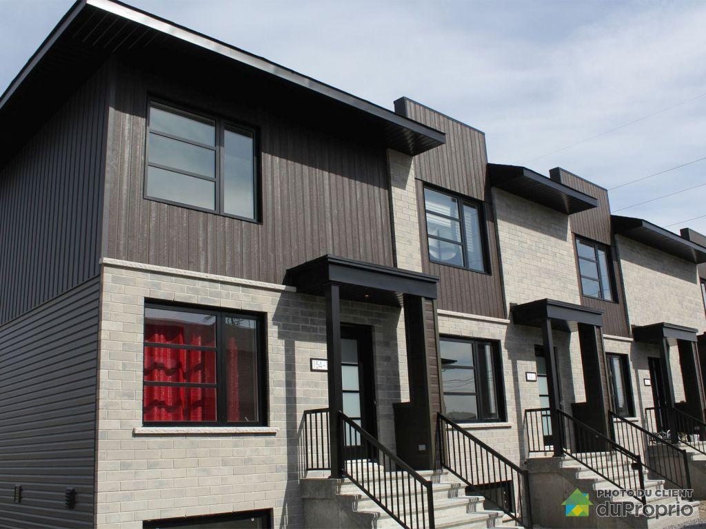 Maison neuve vendre les c teaux 158 rue marcel dostie les c teaux j7x - Combien coute une facade de maison ...