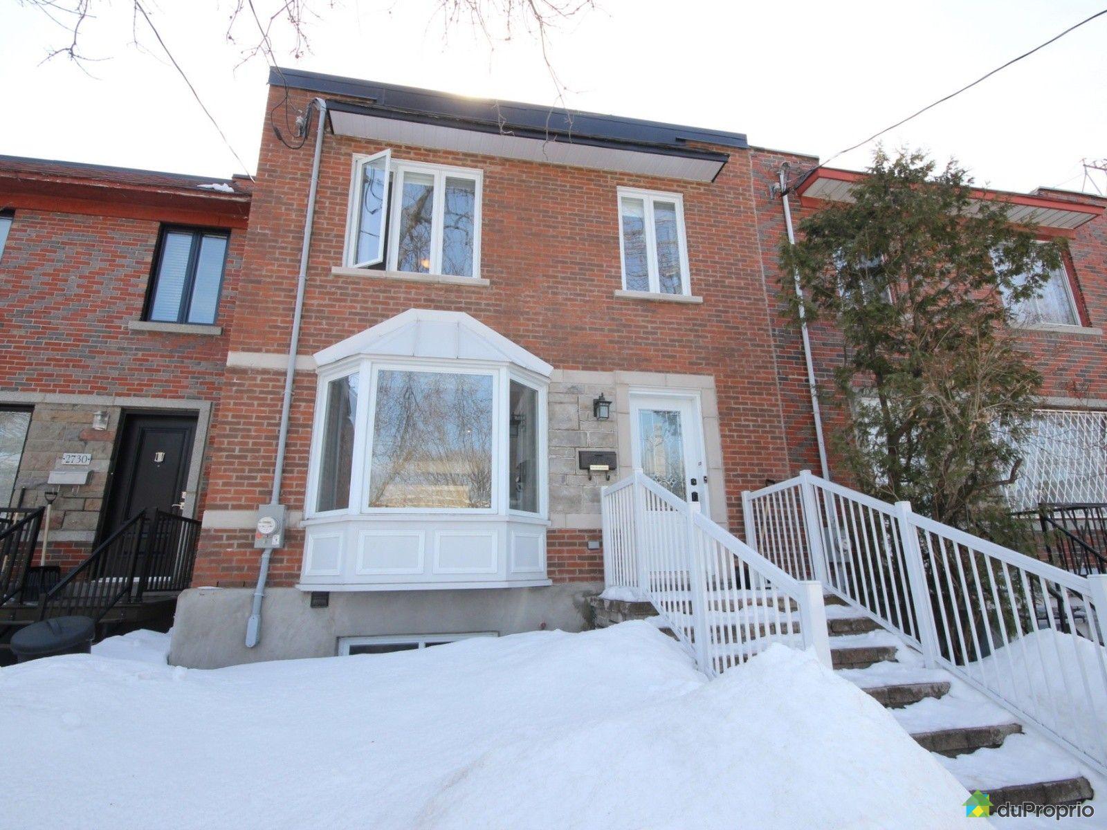 Maison vendu montr al immobilier qu bec duproprio 595363 for Piscine hochelaga