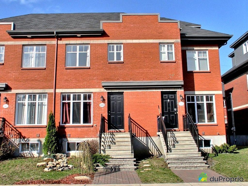 Maison vendu montr al immobilier qu bec duproprio 323109 for Acheter maison montreal canada