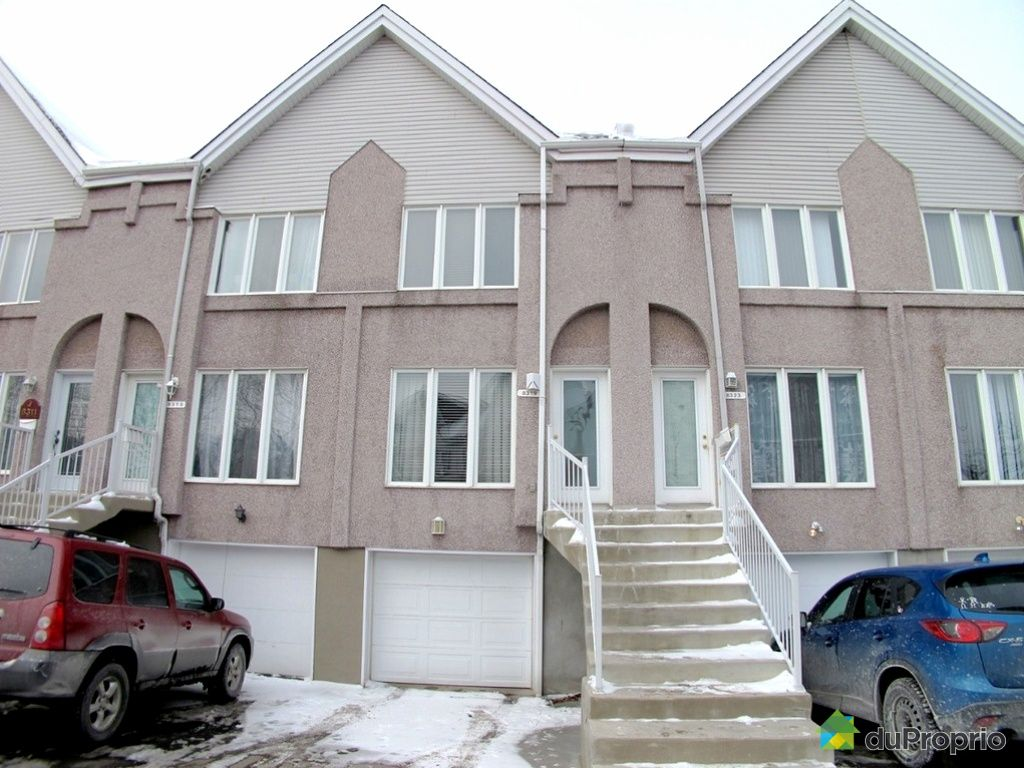 Maison vendu montr al immobilier qu bec duproprio 489387 for Piscine hochelaga