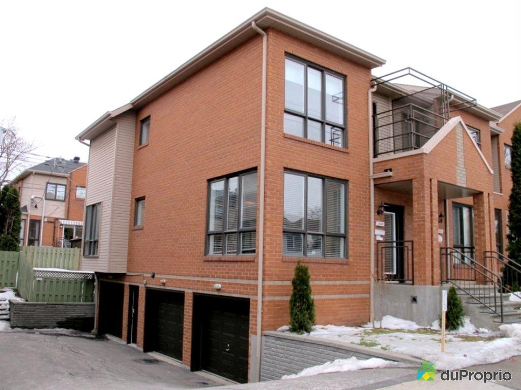 Maison vendu montr al immobilier qu bec duproprio 507651 for Acheter maison montreal canada
