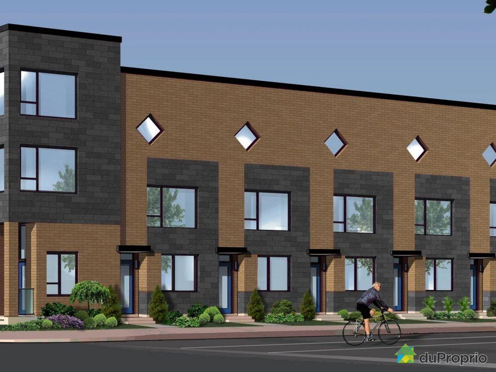 Maison neuve vendu montr al immobilier qu bec duproprio for Achat maison montreal canada